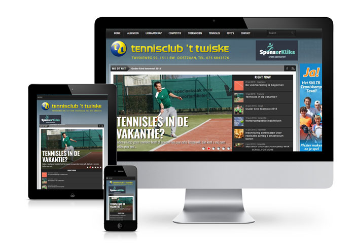 website tennisclub 't Twiske